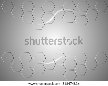Silver Honeycomb background