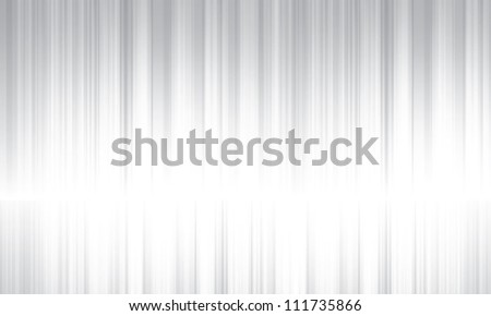 Silver streaks vector abstract background - stock vector