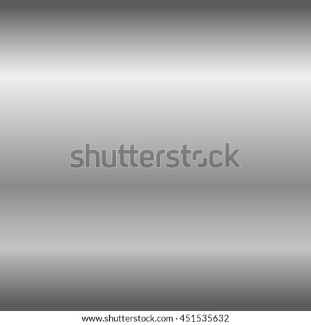 Silver texture seamless pattern. Light realistic, shiny, metallic empty horizontal gradient template. Abstract metal decoration. Design wallpaper, background, wrapping, fabric etc Vector Illustration.