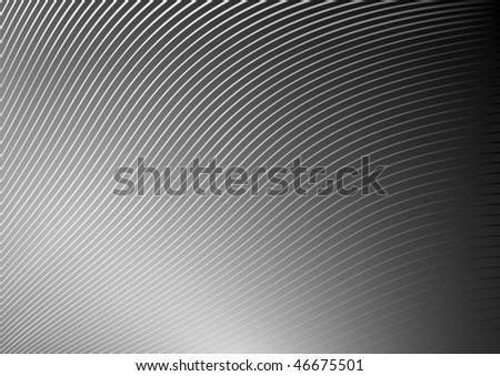 Silver vector stripes