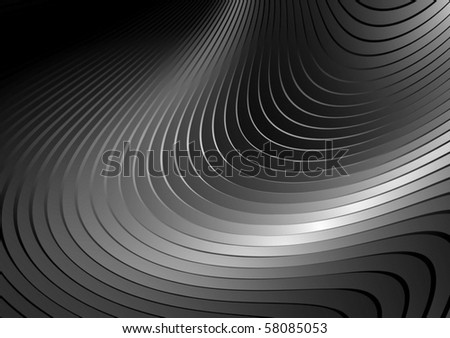 Silver vector  twisted background surface