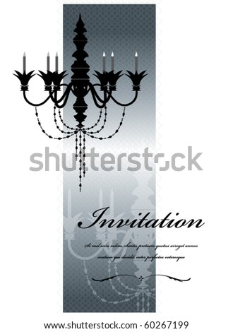 silver vector vintage template - stock vector
