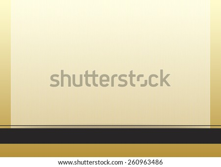 Simple background with stripes - stock vector