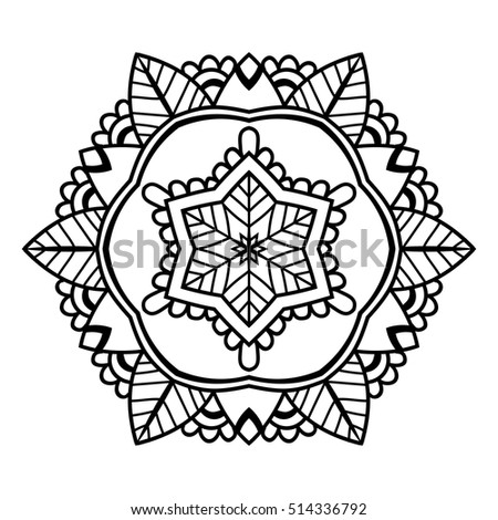 mandala abstract background design adult older stock vector 404355460 shutterstock. Black Bedroom Furniture Sets. Home Design Ideas