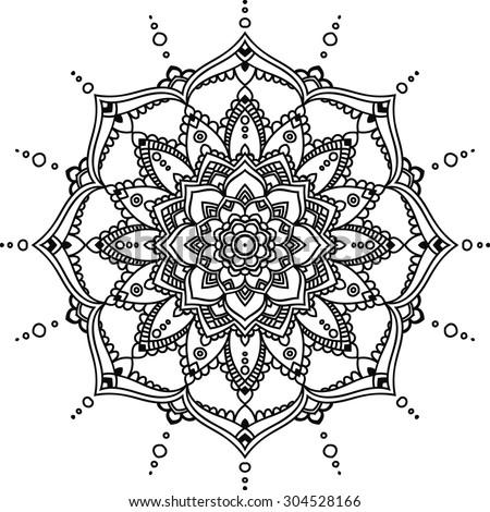 Stock Images similar to ID 122859682 - ornate lotus flower ...   450 x 470 jpeg 63kB