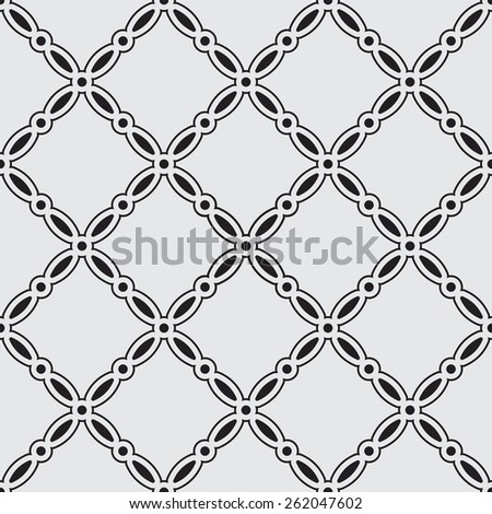Simple black seamless wallpaper pattern vector illustration  - stock vector