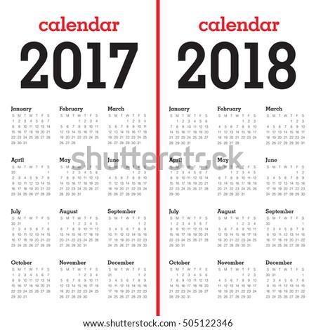 Календарь картинках 2017-2018 год