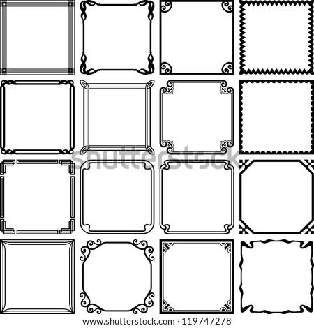 simple frame design. Simple Frame Simple Frames Set 2 With Frame Design R