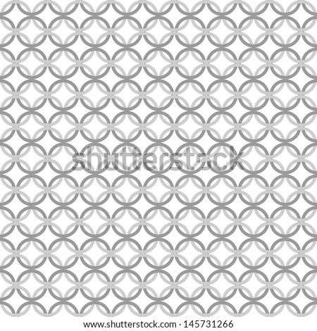 Simple geometric vector pattern. set of rings. vector. - stock vector