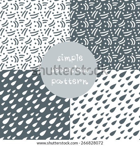 simple pattern - stock vector