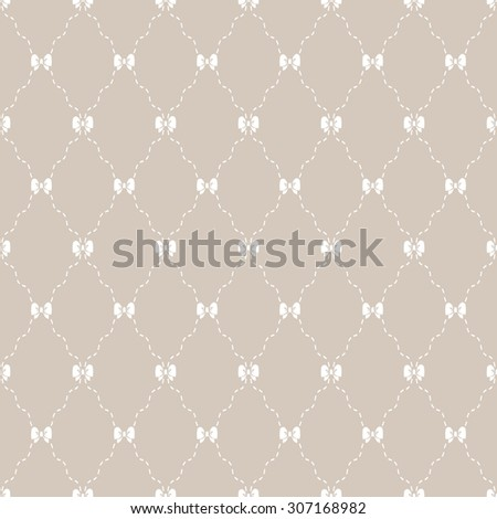 Simple pattern. Seamless vector background - stock vector