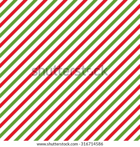 Simple retro geometric Christmas pattern. Traditional colors. Background can be copied without any seams.Vector winter endless texture can be used for printing onto fabric and paper or scrap booking.  - stock vector