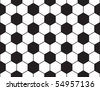 simple seamless football pattern, vector - stock vector