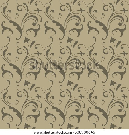 Simple seamless pattern. Fashionable decoration fabrics, packaging, interior. Handmade drawing.