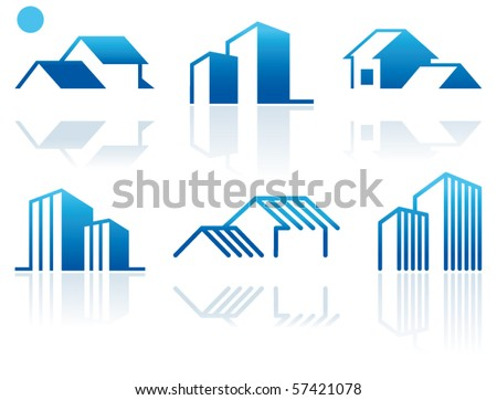 Simple symbols of real estate