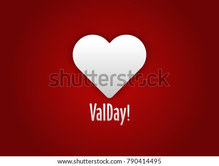 Simple Valentines Card Hearts Bubbles Hearts Stock Vector Royalty
