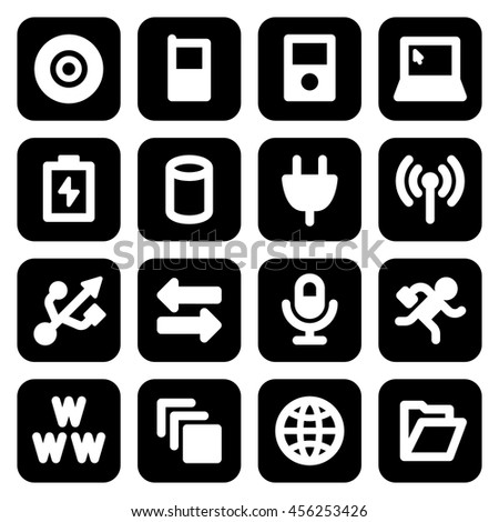 Simple Web Icon Set