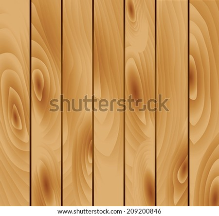 simple wood background - stock vector