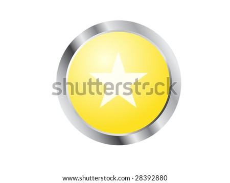 simple yellow star button