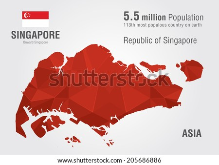 Singapore map stock images royalty free images vectors singapore world map with a pixel diamond texture world geography publicscrutiny Images