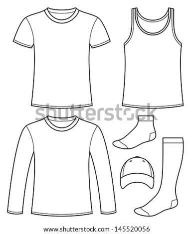 Sock Template Illustrator Tutorial