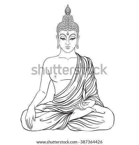 fat buddah coloring pages - photo#42