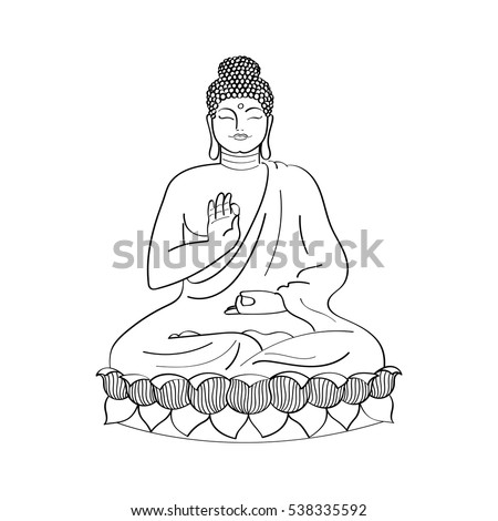 Будда вектор