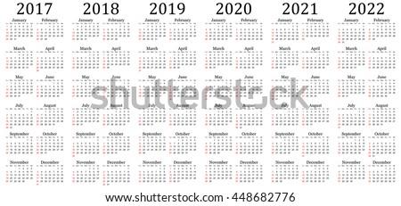 multi year planner