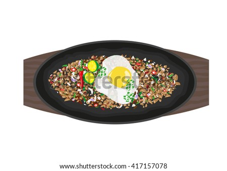 how to cook sisig with egg
