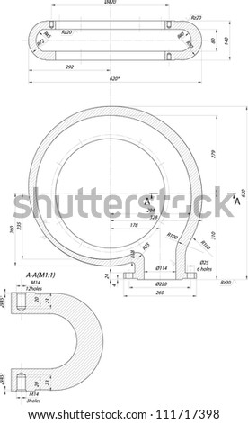 Sketch guide vanes centrifugal pump vector stock vector 111717398 sketch of guide vanes of a centrifugal pump vector eps10 ccuart Image collections