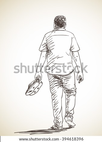 Barefoot Man Stock Images Royalty Free Images Amp Vectors