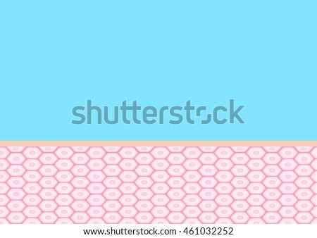 Epidermis stock images royalty free images vectors shutterstock skin diagram vector graphic pastel color ccuart Image collections