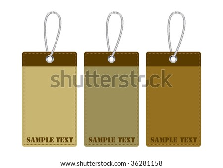 skin stickers - stock vector