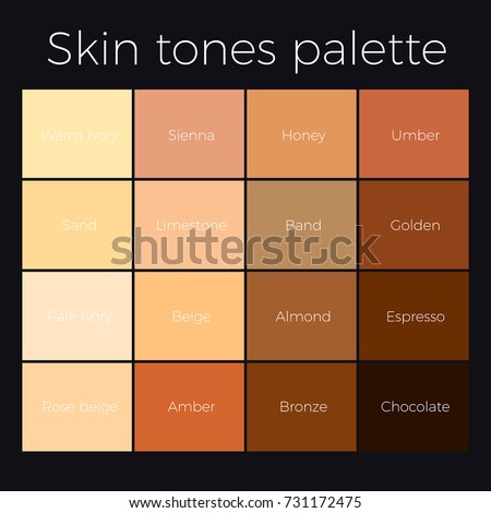 Skin Tone Color Chart Ceriunicaasl