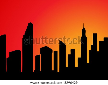 Skyscrapers Illustration