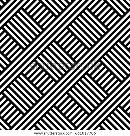 SLANT PARALLEL LINE WITH CROSSING, GEOMETRIC SEAMLESS VECTOR PATTERN