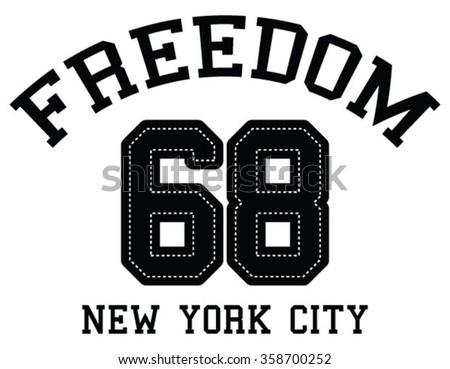 new york city typography graphics woman stock illustration. Black Bedroom Furniture Sets. Home Design Ideas