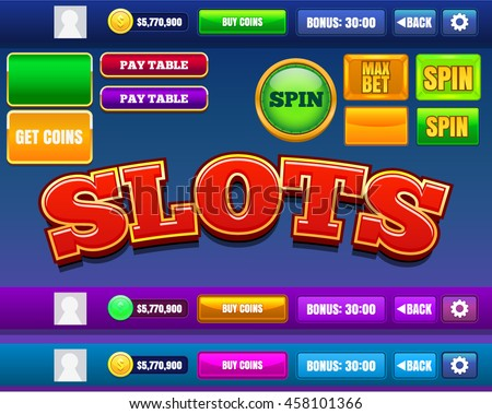 Slots Mobile Game Reskin Assets