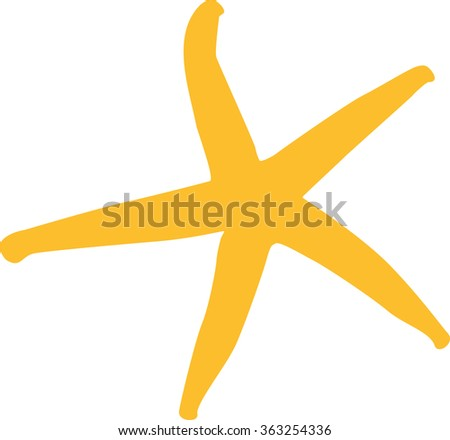 Small starfish