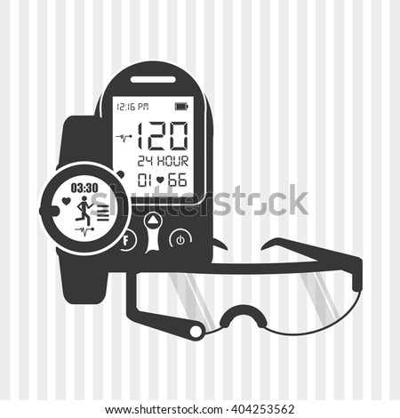 smart gadgets design, vector illustration