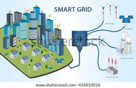 Smart Grid Stock Images, Royalty-Free Images & Vectors | Shutterstock