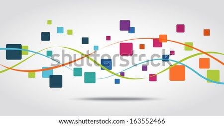 Smart phone apps icon concept background - stock vector