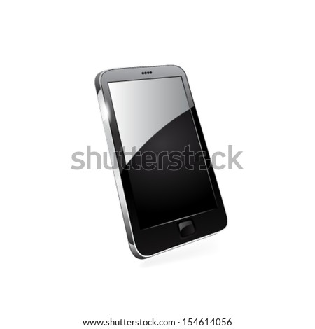 Smart phone editable vector file. Original design. - stock vector