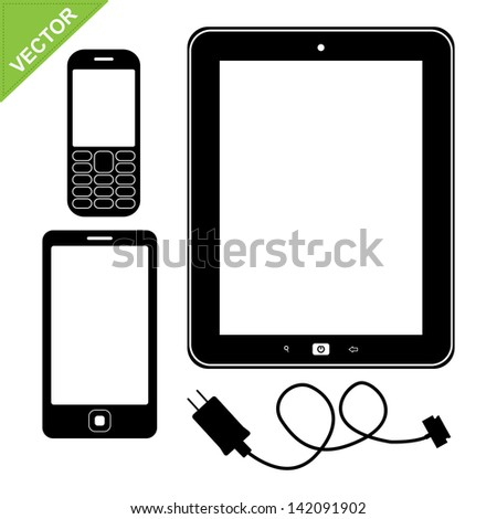 Tablet Silhouette Stock Photos, Images, & Pictures ...