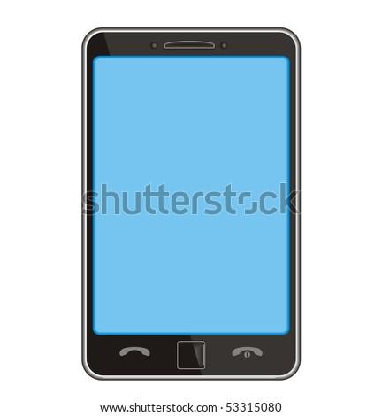 smart phone - original design - stock vector