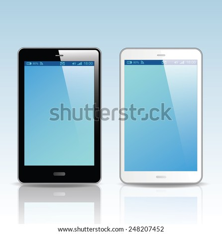 smart phone. Vector Illustration.