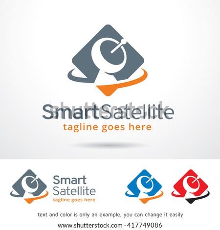 satellite logo stock images royaltyfree images amp vectors