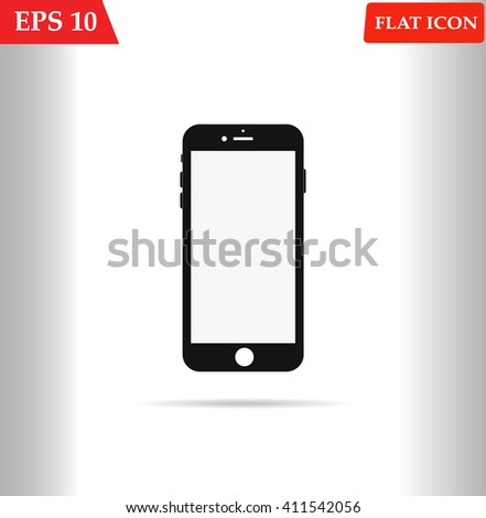 Smartphone icon in iphone style. Smartphone Icon Vector. Smartphone Icon Picture. Smartphone Icon Drawing. Smartphone Icon Image. Smartphone Icon JPG. Smartphone Icon JPEG. Smartphone Icon EPS - stock vector