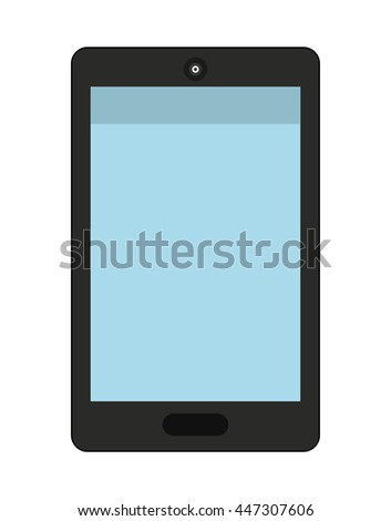smartphone isolated icon design, vector illustration  graphic