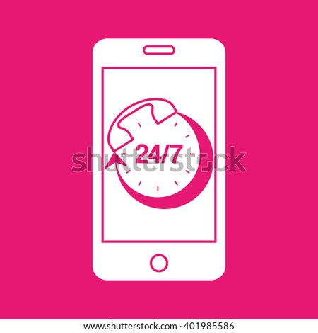 smartphone services  design  - stock vector
